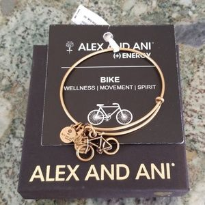 NWT ALEX AND ANI Bike Bracelet